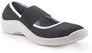 Codeor CBNB Bailarina Professional Chaussures de sécurité, Noir/blanc, Taille 38