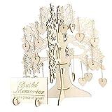 Árbol de los Deseos Comunion Invitados Alternativo de Boda para Árboles Y Corazones Caja de JoyerÍa con Forma de Corazòn de Amor 100pcs