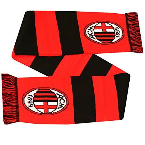 AC Milan - Bufanda oficial de fútbol (100% acrílico)
