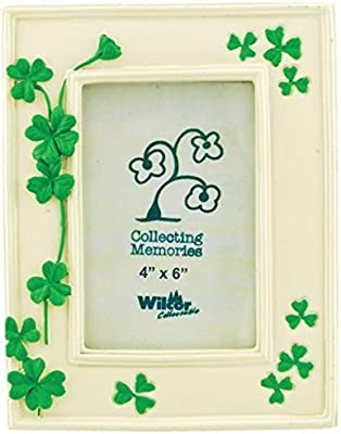 Shamrock Change it Up 6X4 Picture Frame IRISH I DO NEW IN BOX