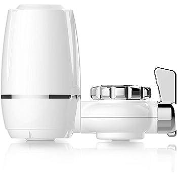 Filtro de Agua para Grifo Tap Water Purifier Purificador de Agua Doméstico Mini Faucet Water Filter Reduce la Cal y el Cloro para un Sabor Excelente: Amazon.es: Hogar