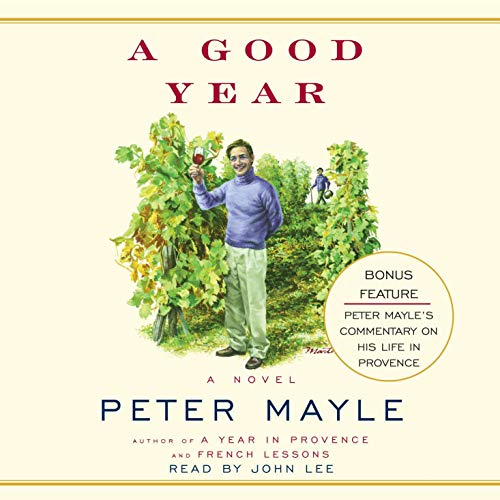 A Good Year                   By:                                                                                                                                 Peter Mayle                               Narrated by:                                                                                                                                 John Lee                      Length: 7 hrs and 20 mins     323 ratings     Overall 4.1