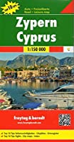 Cyprus Road and Leisure Map with Top 10 Tips (English, Spanish, French, Italian and German Edition) by Freytag-Berndt und Artaria(2016-06-01)