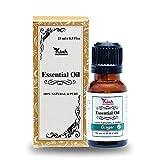 Ganga Ayurveda Kiah Ingwer Ätherisches Öl — Ideal Für Lymphdrainage-Massage — 100% Reines Therapeutisches Ingweröl, Ätherische Öle ||15 ML