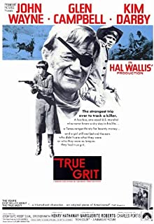True Grit Movie Poster (27 x 40 Inches - 69cm x 102cm) (1969) -(Jeremy Slate)(Dennis Hopper)(Alfred Ryder)(Strother Martin)(Jeff Corey)(Ron Soble)
