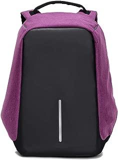 JITALFASH Men's Backpack Canvas Bag For Man Casual Large Capacity Backpacks For Laptop Bags Travel Backpacks Purple onesize