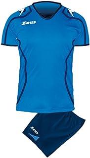 Zeus Kit Lybra Donna Voleibol Complementando para Las Mujeres Sport Pegashop Colour Amarillo Fluo-Azul-Blanco