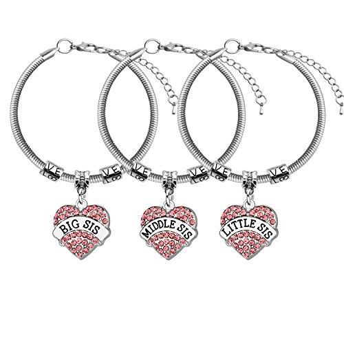 Jewellery – trendy regolabile braccialetto di amicizia regalo per sorelle Best Friends (2)