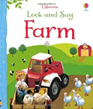 Look and Say Farm (Usborne Look and Say) by Felicity Brooks (1-Aug-2013) Board book