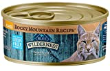 Blue Buffalo Wilderness Rocky Mountain Recipe High Protein Grain Free, Natural Adult Flaked Wet Cat Food, Trout Feast in Tasty Gravy 5.5-oz cans (Pack of 24)