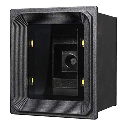 HttKse Scanners de Codes à Barres 1D 2D Précise Wired Barcode Scanner Module Lecteur De Codes À Barres De Balayage for Le Paiement Mobile précision de numérisation (Color : Black, Size : One Size)