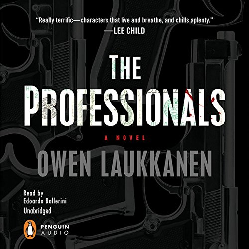 The Professionals audiobook cover art