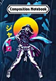 Composition Notebook: Gyro Zeppeli Jojo's Anime Vaporwave, Journal 6 x 9, 100 Page Blank Lined Paperback Journal/Notebook
