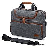 LOVEVOOK Laptoptasche 15 Zoll -15,6 Zoll Wasserdichte Laptop Tasche Aktentasche Herren für Macbook/Lenovo/HP/ASUS/Dell/Acer, Notebooktasche für Business/Reisen/Arbeit