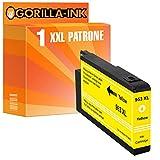 Cartucho de Impresora Gorilla-Ink 1 Compatible con HP 953 XL | Adecuado para HP OfficeJet Pro 7720 7730 7740 WF 8210 8216 8218 8710 | Amarillo