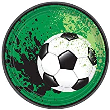 Soccer Ball Party Plates, 7