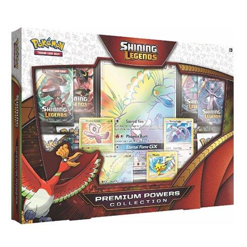 Pokémon POK80341Scatole da Collezione con Carte Premium della Serie Shining Legends
