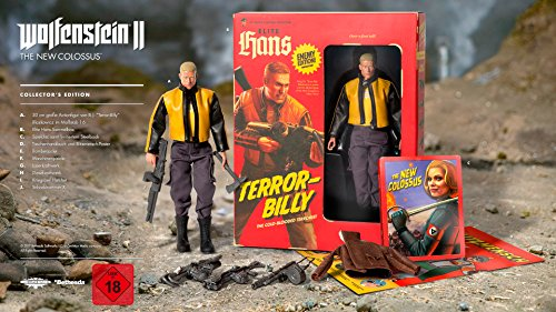 Wolfenstein II: The New Colossus - Collectors Edition - [PC ]