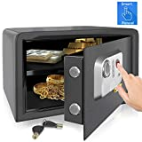 Best Home Safes - SereneLife Electronic Fingerprint Fire Lock Fireproof Digital Home Review