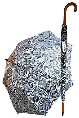 Glooke Geselecteerde Paraplu Grote Houten Handvat Art.04 Woonaccessoires, Multi kleuren, One Size