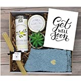 UnboxMe Care Package For Women   Feel Better Soon Get Well Soon Gift   Stress Relief Gift Self Care Encouragement Gift Nurse Gift Bff Gift, Cancer Gift Happy Birthday Gift (Get Well Soon Card)