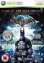 Batman Arkham Asylum game of the year edition By Eidos, Xbox 360
