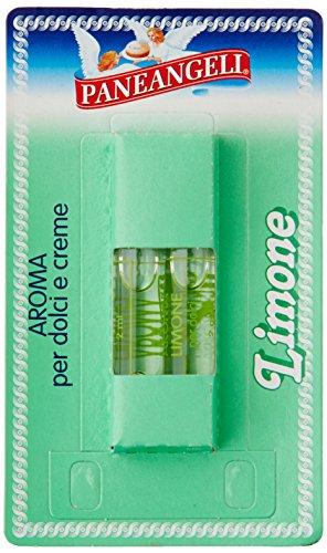 Paneangeli Aroma per Dolci e Crema Limone, 2 Fialette, 4ml