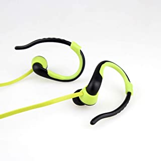 Player USB Neckband Sports Running Mp3 with Earphone Support 16GB Micro SD TF Card XSWFF (Color : Green)