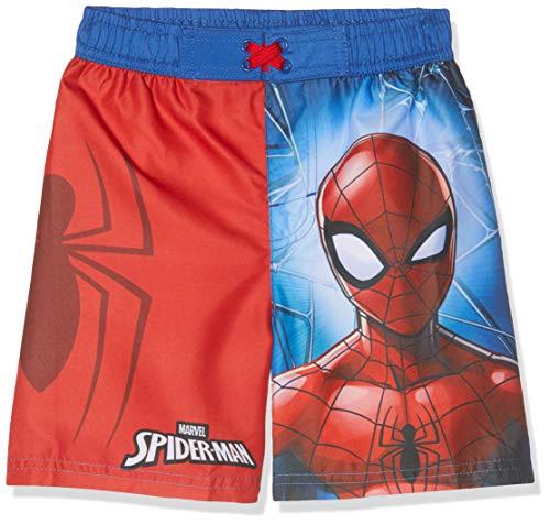 Spiderman Jungen 5543 Boxershorts, Rot (Rouge Rouge), 10 Jahre
