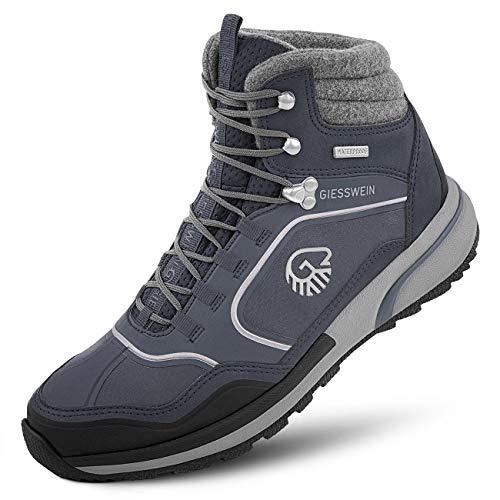 GIESSWEIN Wool Cross X Alpine Men - wasserdichte Herren Wanderstiefel, Trekking-Schuhe mit Merinowolle, Outdoor Wanderschuhe, Bergschuhe