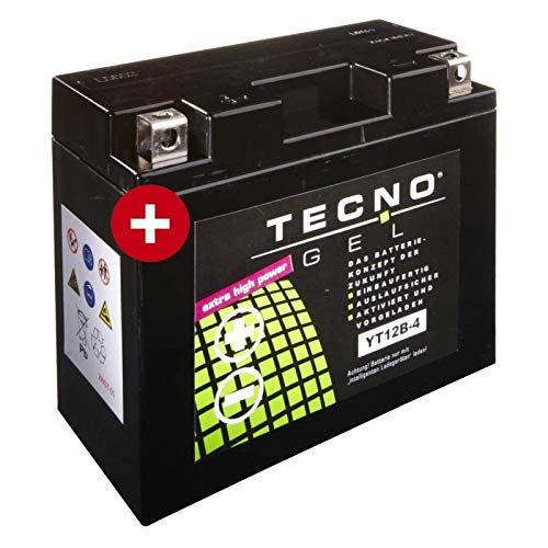 Tecno YT12B-4 Gel Batterie Streetfighter 848 2012-2015