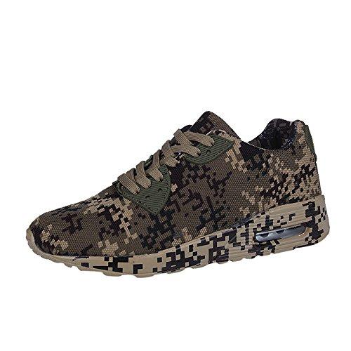 ODRD Clearance Sale [EU36-EU49] Schuhe Herren Männer Herrenmode Camouflage Pattern Walking Schuhe Flache Ferse Sportschuhe Combat Hallenschuhe Worker Boots Laufschuhe Wanderschuhe Sneakers Sport