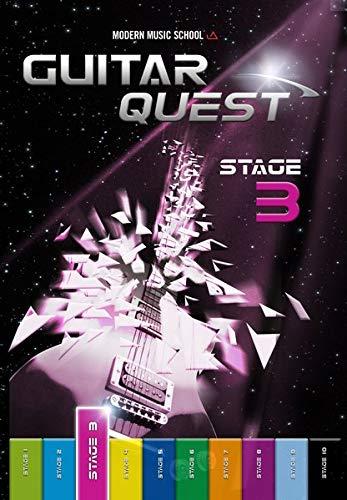 Guitar Quest Stage 3: Guitar Quest Stage 3: Gitarrenschule Anfänger Fortgeschrittene. Spielend leicht Gitarre lernen. Gitarrenbuch / Songbuch mit Bonus-Material (DEU)