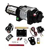 MSW Motor Technics - PROPPULATOR 3500-PRO - Cabrestante Todoterreno - 3.500 lbs -1.587 kg - 12V