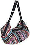 Bolsa bandolera para equipaje Hobo Bandolera de viaje, bolsa de mensajero hippie bohemio, gran bolso, (Naga10), Talla única
