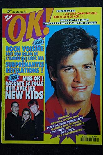 OK ! âge tendre 830 DEC 1991 Roch Voisine - New Kids - Bruel - Lenny Kravitz