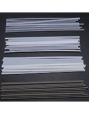 MASUNN 50 stuks kunststof lasstaven ABS/Pp/PVC/PE-lasstokken 200 mm voor kunststof lassen