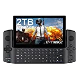GPD Win 3 [2TB NVME M.2 SSD Storage]- 5.5 Inches Black Mini Handheld PC Video Game Console CPU: Intel Core i7-1165G7 Touch Screen Laptop Notebook UMPC Tablet PC 16GB RAM