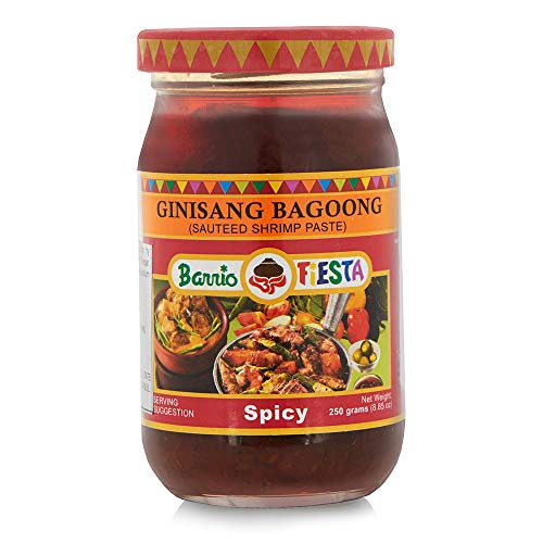Barrio Fiesta Ginisang Bagoong Sauteed Shrimp Paste - Spicy 8.85oz (250g)