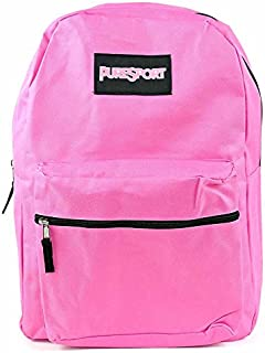 Classic PureSport Backpack with Padded Straps (Pink, 17