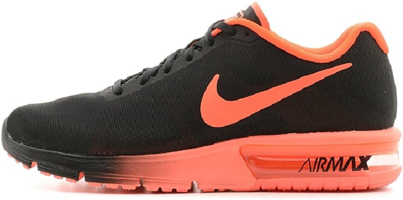 Nike Air Max Sekent Running skor, Färg svart (svart    Total Crimson), Storlek 45  2  kreditgaranti