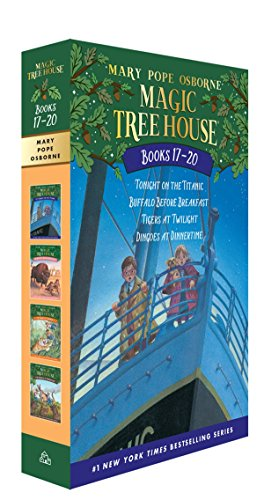 Magic Tree House Books 17-20 Boxed Set: The Mystery of the Enchanted Dog (Magic Tree House (R))の詳細を見る