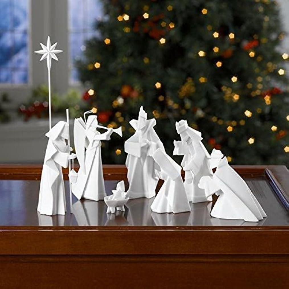 予算橋ヤング磁器Origami Nativity