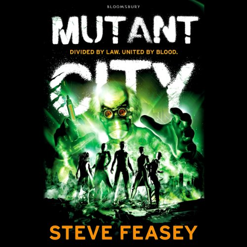 Mutant City audiobook cover art