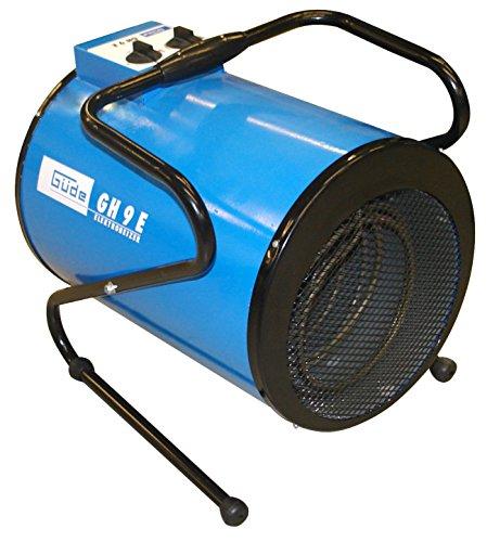 Güde GH 9 Calentador de ventilador Negro