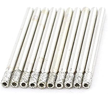 Lot Of 20 Diamond Drill Bits Kit 3mm 1//8inch Core Bit Hole Saw For Stone Marble