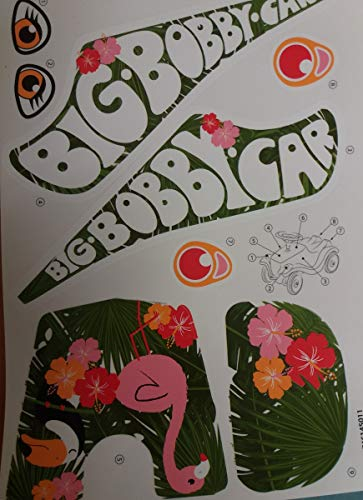 Big Bobby Car Stickers Aufklebersatz Flamingo