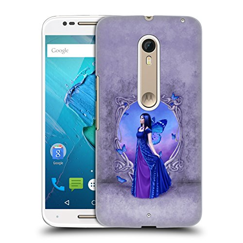 Official Rachel Anderson Sapphire Birth Stone Fairies Hard Back Case Compatible for Motorola Moto X Style/Pure
