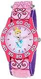 Disney W001193 Reloj de Cenicienta infantil para aprender a leer la hora