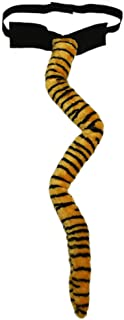 SeasonsTrading Deluxe Long Plush Tiger Tail Costume Accessory - Halloween Party